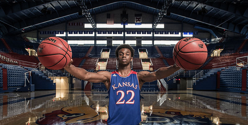 Andrew Wiggins, Lawrence, KS